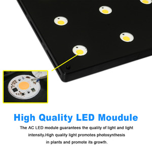 Image 4 - Ultra Thin COB LED Plant Grow Light Full Spectrum BlackSun S4 S6 S9 LED Panel Lamp for Indoor Hydroponic Plants All Growth Stage