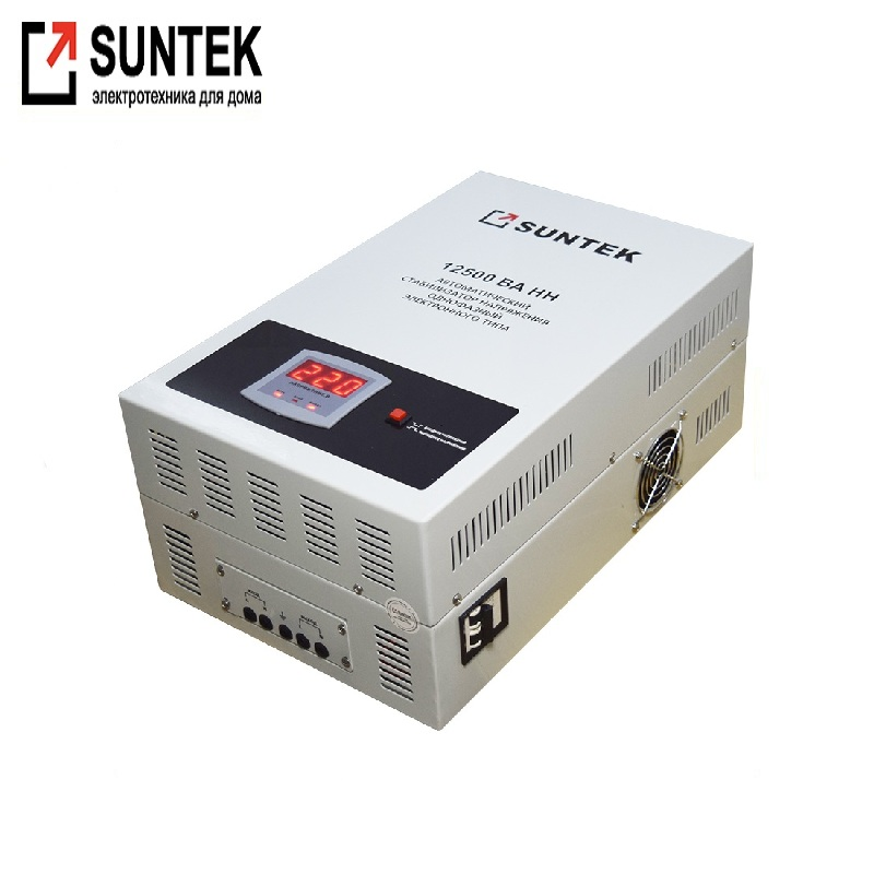 Relay undervoltage stabilizer SUNTEK 12500VA-NN Voltage regulator Automatic voltage regulator Power stab Constant-voltage source цена