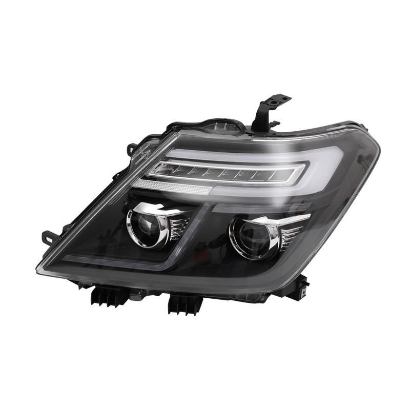 Front Fog Rear Headlights Styling Luces Para Auto Drl Assembly Cob Daytime Running Car Led Lights For Nissan Patrol Y62