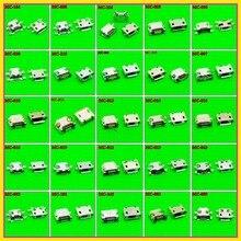25 نماذج 250 قطعة 1000 قطعة المصغّر usb jack 5 P, 5 pin المصغّر usb موصل المصغّر usb جاك شحن ميناء المقبس ل PAD اللوحي المحمول