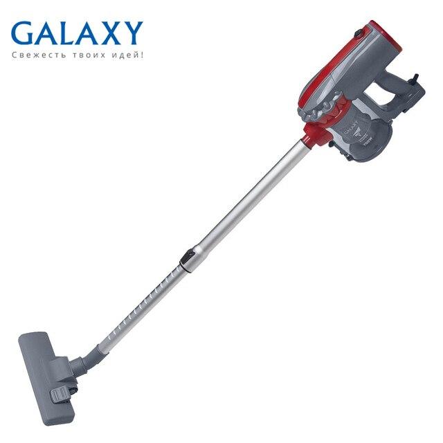 Пылесос электрический Galaxy GL 6255 (Ручной, безмешковый, потребляемая мощность 700 Вт, мощность всасывания 100 Вт, емкость контейнера 0.5 л, HEPA-фильтр, длина шнура 4.5 м)