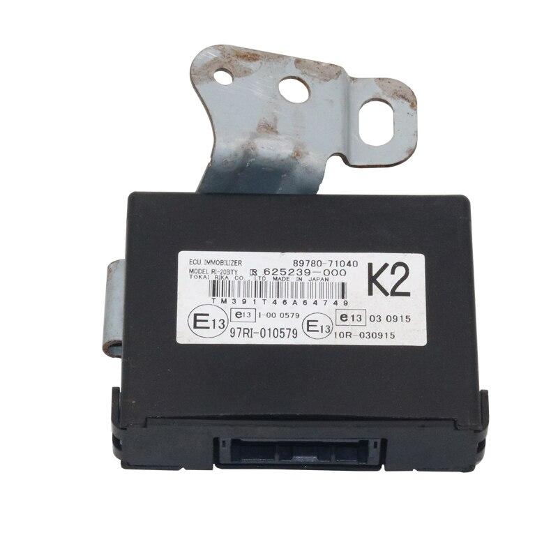 Véritable OEM 89780-71040 antidémarrage ordinateur Module de commande pour Toyota Hilux Vigo Fortuner