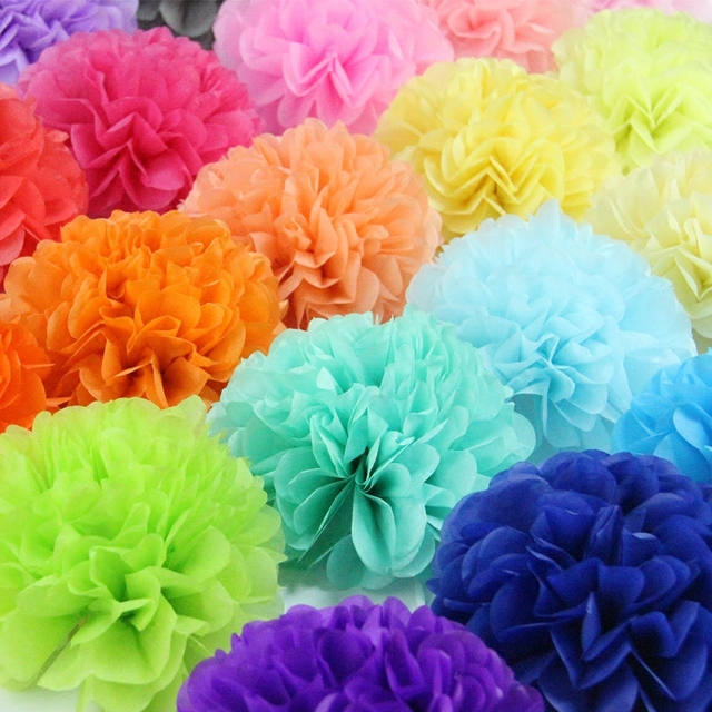1520253035cm china tissue paper pom poms wedding party decor 1520253035cm china tissue paper pom poms wedding party mightylinksfo Image collections