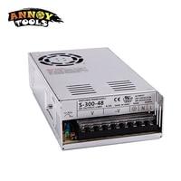 Free Shipping 48V 300W 6.25A Adjustable Smps Power Supply 48V Transformer 220v 110v AC to DC 48V For CNC engraving machine