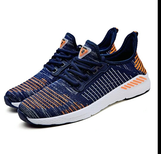 2019 New Air Mesh Running Shoes For Men Sneakers Outdoor Breathable Comfortable Athletic Flat Shoes Women Sports Shoes