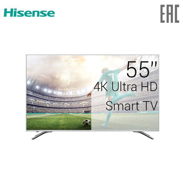 "Телевизор 55""  Hisense H55A6500 4K SmartTV"