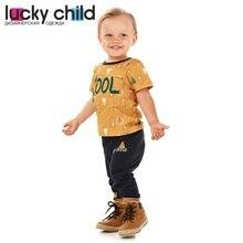 Футболка Lucky Child для мальчиков и девочек, арт. 63-26 (Зимние каникулы) [сделано в России, доставка от 2-х дней]