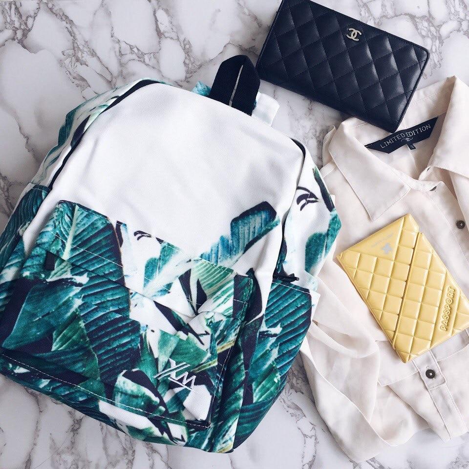 Рюкзак с «пальмовым» принтом с Алиэкспресс