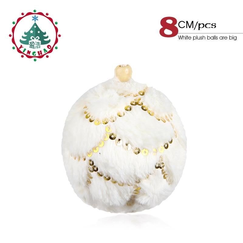 4pcs//6pcs//12pcs//16pcs Christmas Mirror Ball Baubles Xmas Tree Decoration