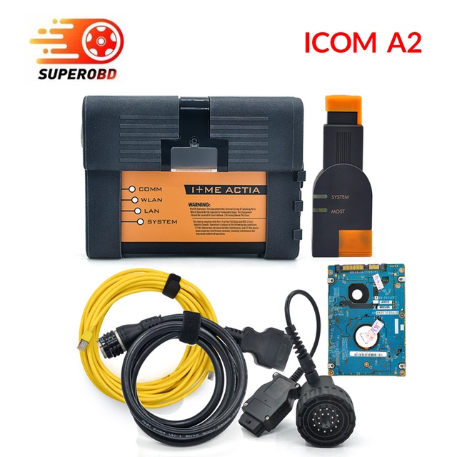for BMW ICOM A2 B C car diagnostic tool with Software 2018 new ICOM A2 for bmw with cable obd2 tool DHL free
