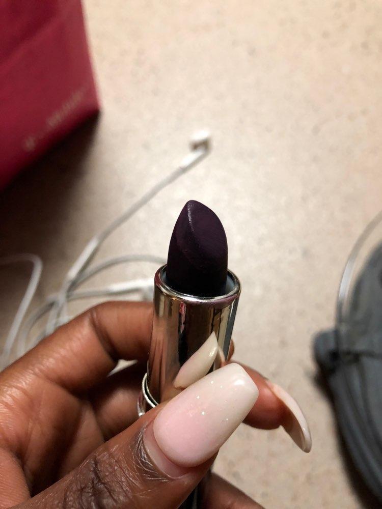 6 Color Matte Lipstick Vampire Style Makeup Purple Black red lipstick makeup waterproof lip stick cosmetic batom KH-3#