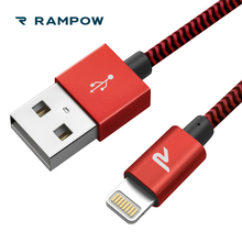 RAMPOW MFi Certified Lightning Cable for iPhone Cable 3.3ft/6.5ft USB Cable Charger for iPhone X/XS MAX/XS/8/8 plus/7,for iPad