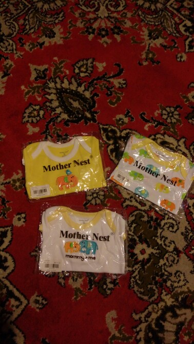 Mother Nest 3 Pieces/lot Fantasia Baby Bodysuit Infant Jumpsuit  Overall Short Sleeve Body Suit Baby Clothing Set Summer Cotton