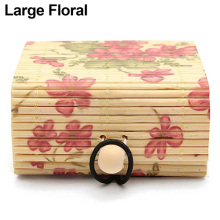 Bamboo Wooden Case Jewelry Storage Boxes