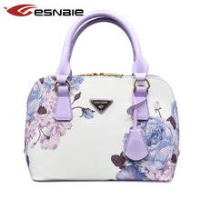 Fashion Women Shell Bag Luxury Leather Handbags Alligator Famous Brands Designer Handbag High Quality Female Shoulder