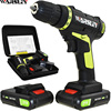 21v Electric Screwdriver Power Tools Electric Drill Cordless Drill Batteries Screwdriver Mini 1 8Ah Battery Capacity