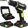 21v Electric Screwdriver Power Tools Electric Drill Cordless Drill Batteries Screwdriver Mini 1 8Ah Battery Capacity
