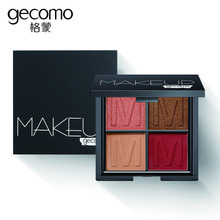 Four-Color Eyeshadow MakeUp Smooth Pearl Light Matte Lazy Dish Three-Dimensional Color Makeup Maquillaje