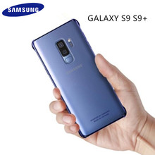 100% GENUINE Original Samsung Galaxy S9 Transparent Plating Hard Back Protective Case Cover For Samsung Galaxy S9 S9 + S9 Plus