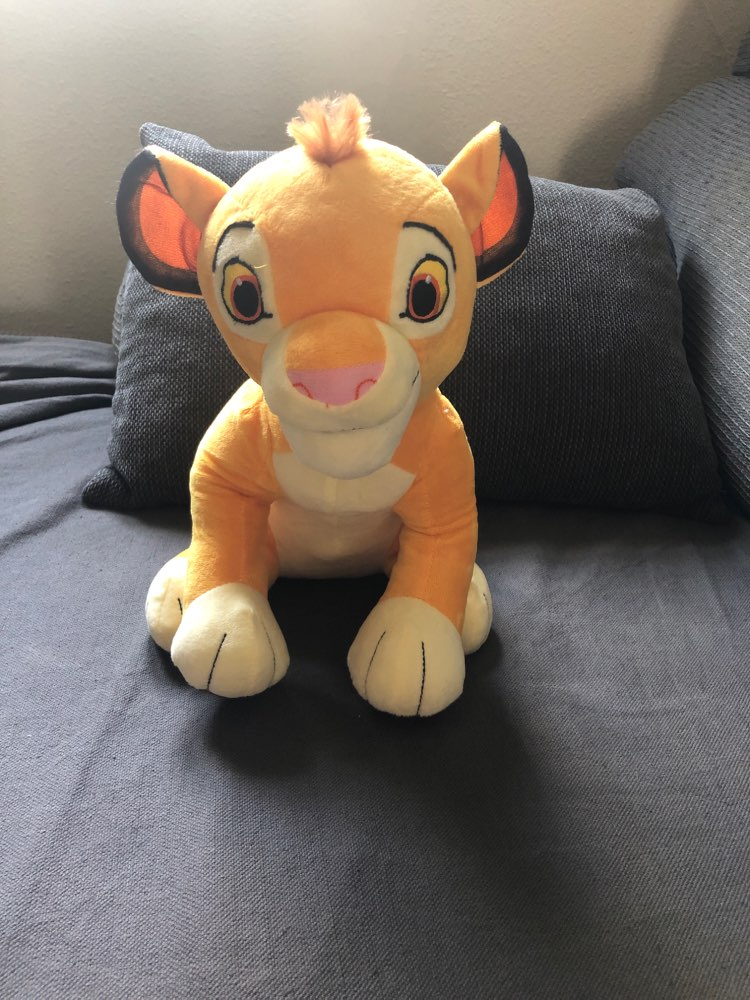 Simba Plush Toy photo review