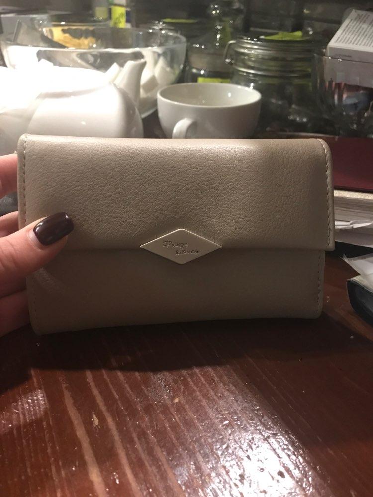3 SIZE Fashion Women Short & Long Leather Wallet Portable Solid Color Phone Money Card Purse Lady Clutch Female Change Carteras photo review
