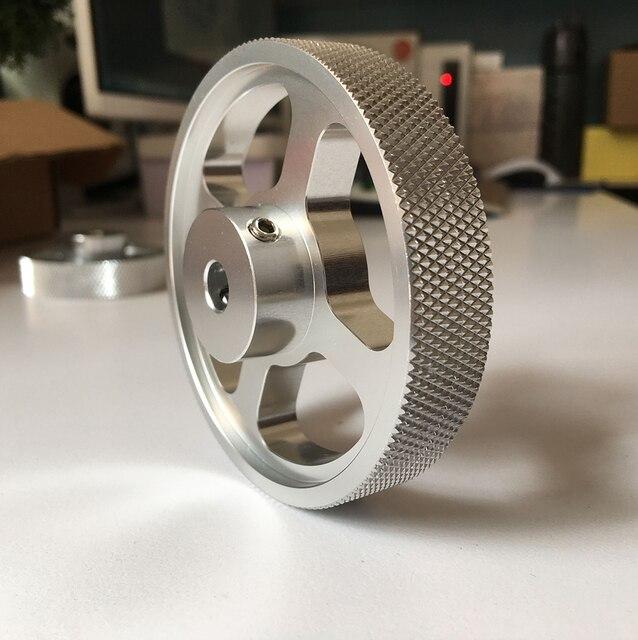 Metal liga de alumínio rolo roda codificação instrumento roda contador medidor perímetro circunferência roda 100 200 250 300 mm 2 pçs