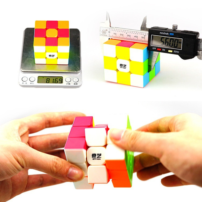 Cubos Mágicos qiyi 3x3x3 cubo mágico profissional Feature : Professional Velocidade Cube