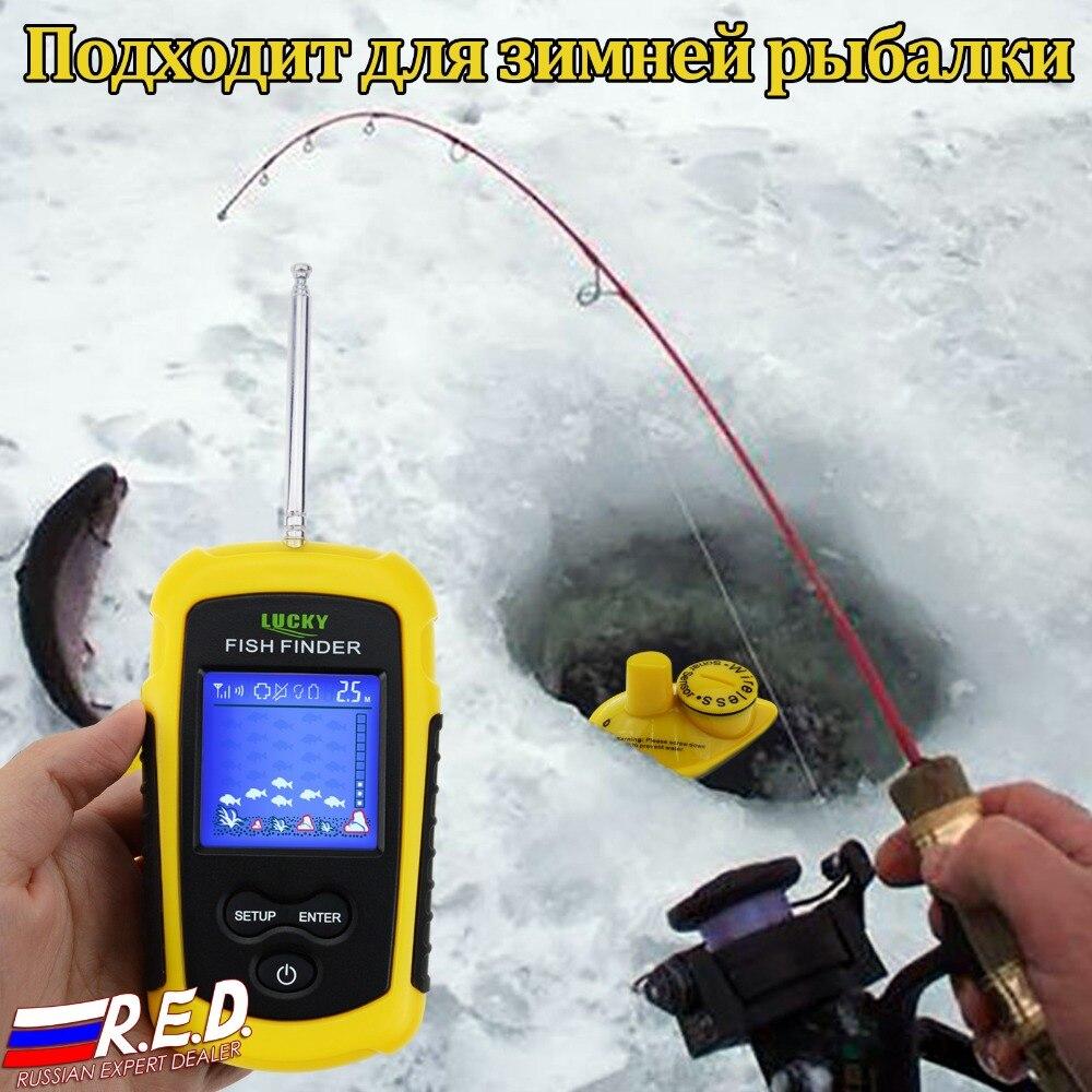 Profundidade fishfinder fish finder sorte inventor dos peixes