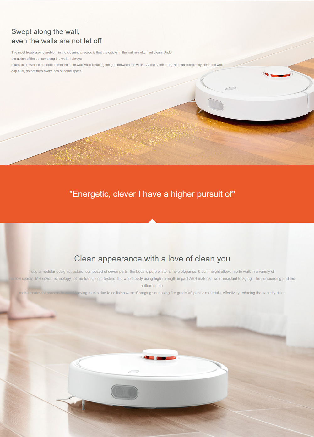 Global Version Original Xiaomi MI Robot Vacuum Cleaner 8