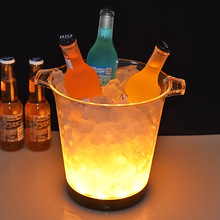 где купить 5L Large Capacity LED Champagne Bucket Wine Cooler with Multi Colors Changing for Party Home Bar по лучшей цене