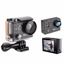 4k Action Camera Waterproof 30m with Wi Fi 2 4G Remote Control Dual Screen Sport Action