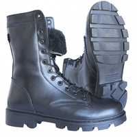 DOF hiver bottines tactiques avec fourrure cuir souple randonnée escalade chaussures plein air bottes armée mode 0049/11 ZA