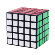 5x5x5 Boys Magic Speed Cube PVC Sticker Puzzle Cube Professional Puzzle Magic Cube Classic Educational Toys for Adults Gifts