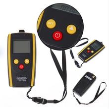Newst Портативный ЖК-цифровой алкотестер быстрый ответ Алкотестер анализатор дыхания детектор Алкотестер с подсветкой дисплей
