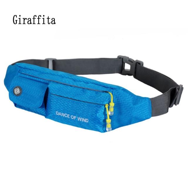 Открытый Спортивные сумки Бег Фитнес сумка Для мужчин Для женщин мешок  двойной карман Бег Вышивка Крестом 510bbba58fe