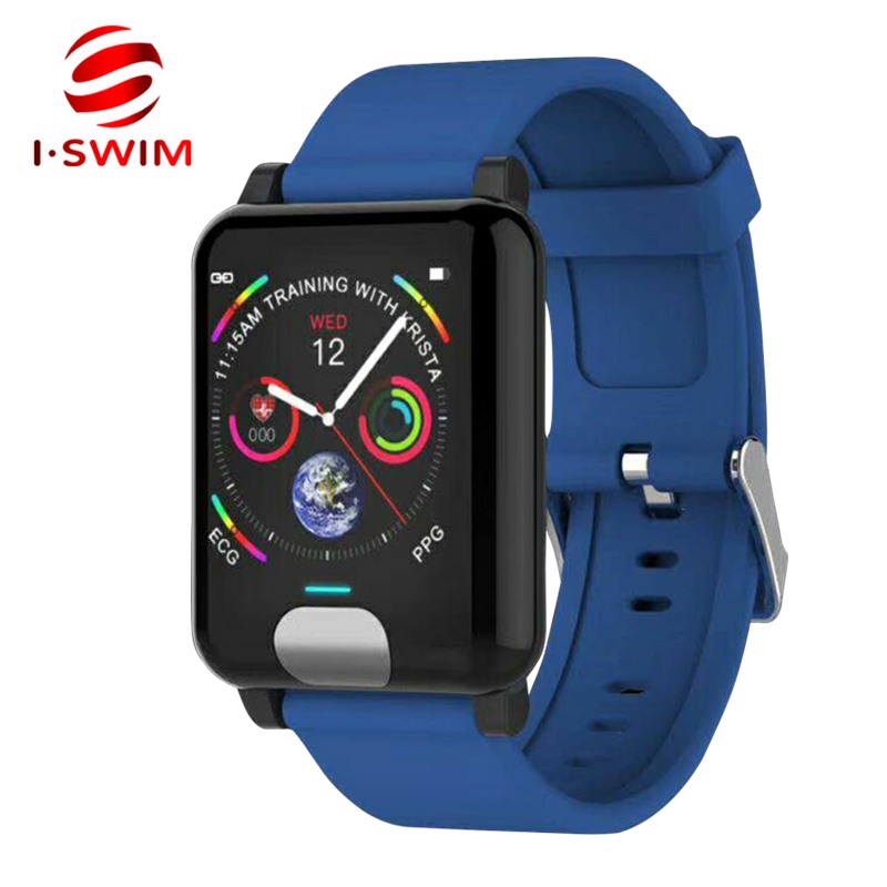 I-SWIM E04 Smart Band Fitness Tracker ECG/PPG Blood Pressure Heart Rate Monitor Waterproof Smart Watch for Xiaomi Android IOS lpsecurity 60kg 12v wooden gate door electric magnetic lock keypad rfid door access control system kit with 10 tags