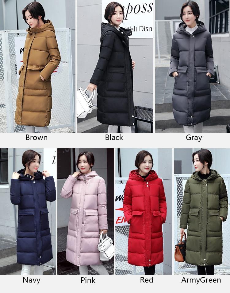 Haute Outwear Porter Solide Femmes Épais Qualité D'hiver Parkas Et Long Veste Automne Hiver Vestes wZFqx0Ap
