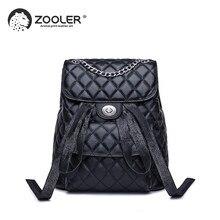 3b8b008dfa893 ZOOLER Marka deri çanta wo sırt çantası zarif siyah kız okul sırt çantası  büyük kapasiteli kadın çanta seyahat bolso mujer # LT2.