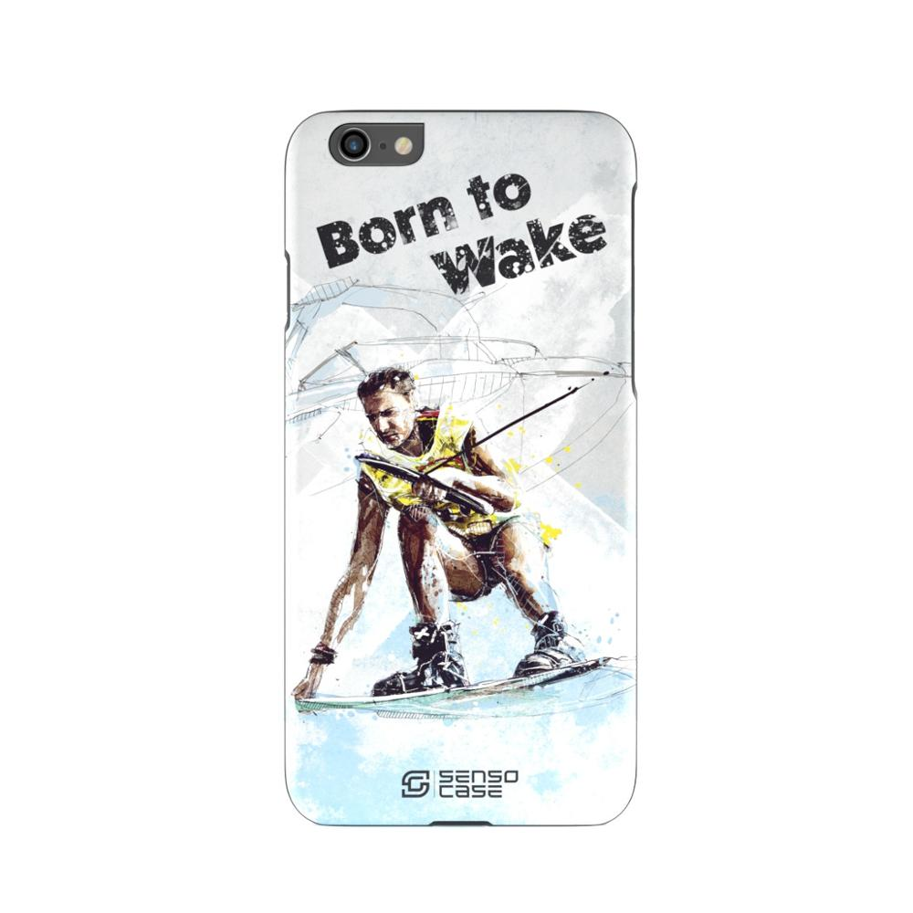 Protective Case SensoCase Wakeboarding for Apple iPhone