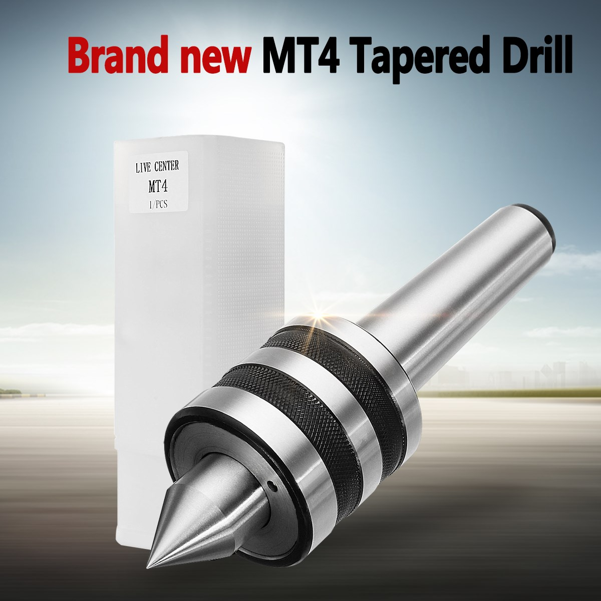 MT4 0.0003 inch Accuracy Precision Rotary Live Center Morse Taper 4MT Triple Bearing Lathe Medium Duty for High Speed Turning mt4 mk4 precision revolving morse live center taper steel shaft bearing lathe turning center point 60 degree