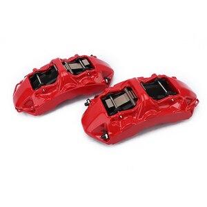 KOKO RACING 6 pot Красный Автомобильный суппорт, тормоз с GT6, полный комплект для Renault Megane 3 rs