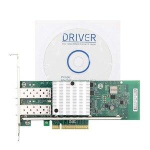 Image 5 - 10Gtek Intel E10G42BTDA 82599ES çip 10GbE Ethernet yakınsama ağ bağdaştırıcısı X520 DA2/X520 SR2, PCI E X8, 2 çift SFP + bağlantı noktası