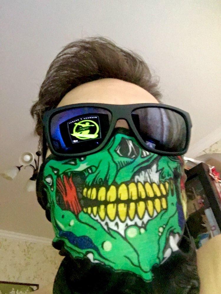 Skull Mask Bandana Bike Bicycle Cycling Helmet Neck Face Mask Half Face Paintball Ski Sport Headband Military Game Masks