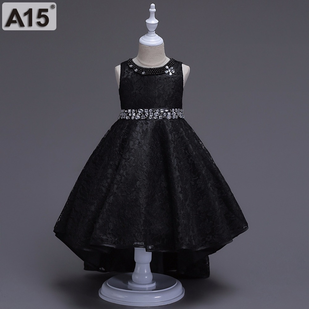 Kids Dress for Girls Wedding Tulle Lace Long Toddler Girls Summer Clothing Floral Dress Princess Party Pageant Formal Gown Teens long criss cross open back formal party dress