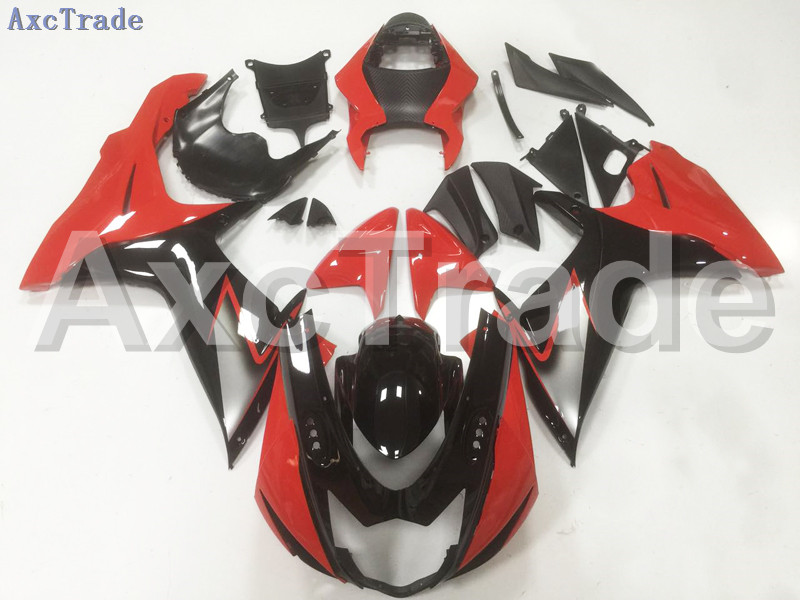 Motorcycle Fairings For Suzuki GSXR GSX-R 600 750 GSXR600 GSXR750 2011-2014 11 - 15 K11 ABS Plastic Injection Fairing Kit Black new motorcycle ram air intake tube duct for suzuki gsxr600 gsxr750 k11 2011 2012 abs plastic black