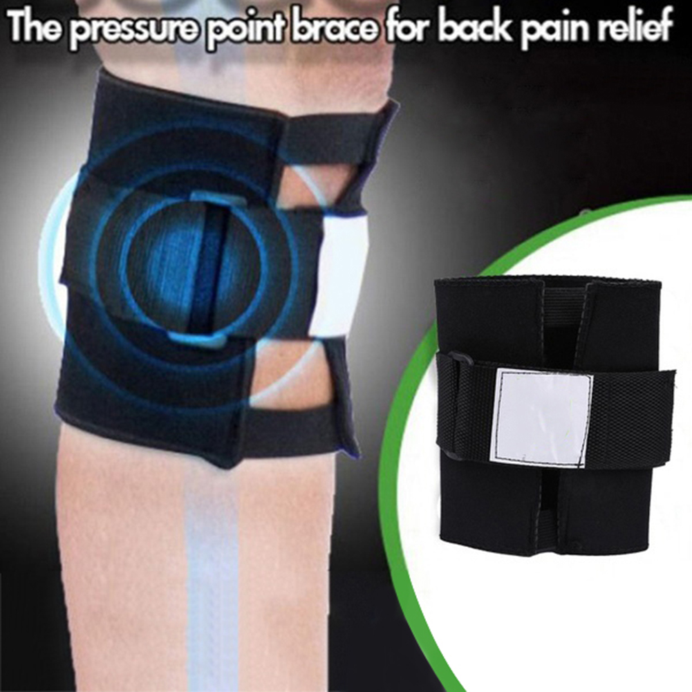Pressure Point Back Pain Relief Acupressure Sciatic Nerve Leg Knee Brace Support