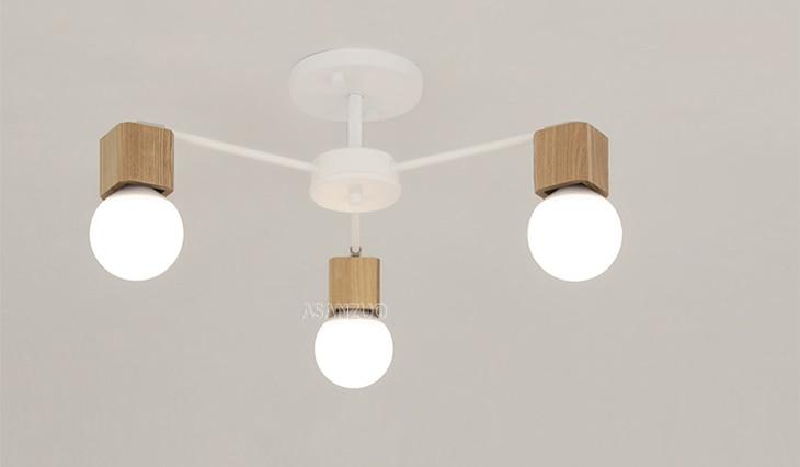 UTB8eU11hXfJXKJkSamHq6zLyVXaB Nordic iron wood ceiling Light Modern home Living Room Bedroom aisle LED Ceiling Lamp Luminaire Lampara Techo