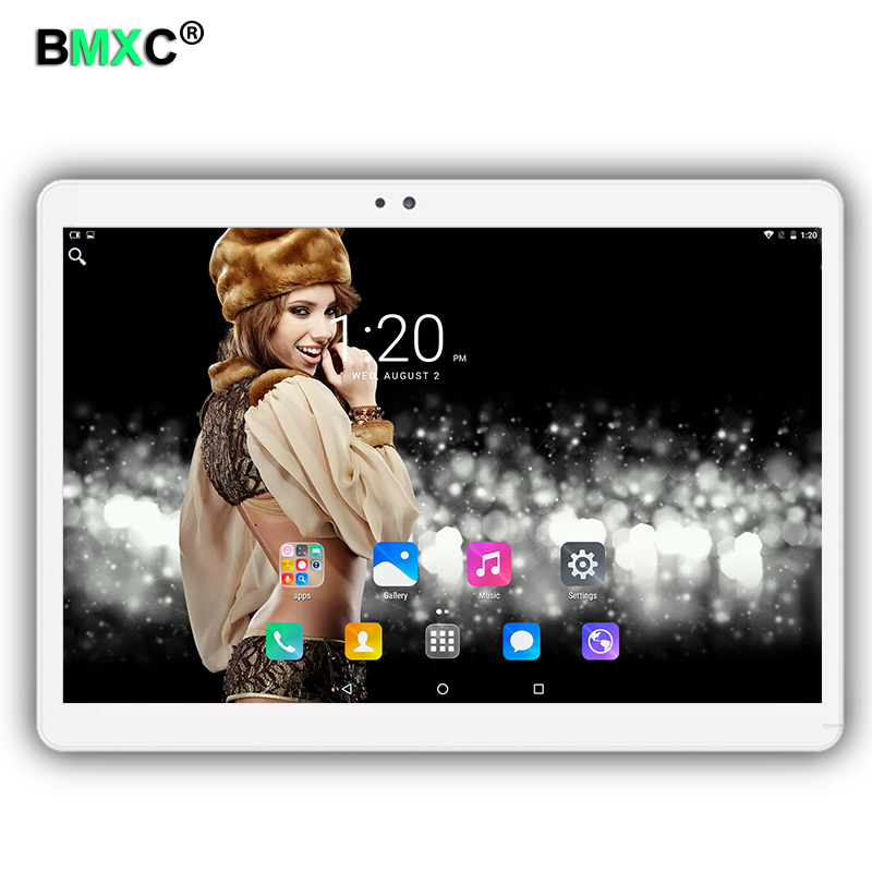 Free shipping 10.1 inch tablet PC Android 6.0 Phone call 3G 4G LTE octa core 1920x1200 IPS 4+64 Dual SIM tablets Pcs WiFi 5Ghz free shipping 2017 s107 10 1 inch android 6 0 call phone octa core tablet pc dual sim 4g lte 4gb 64gb gps ips screen bluetooth