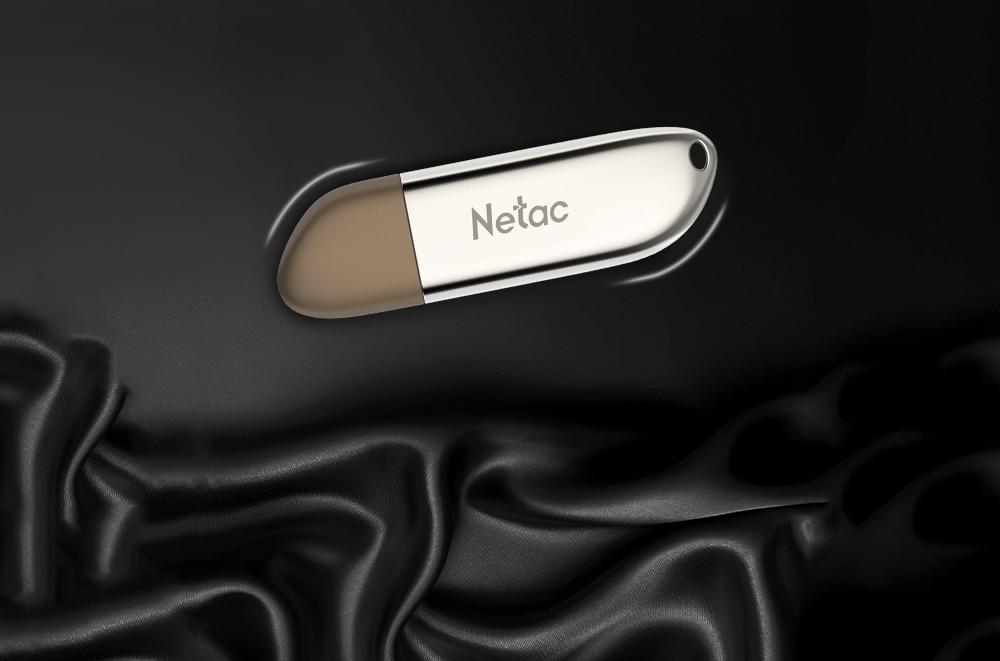 Netac USB 3.0 Stick Zinc Alloy Flash Drive Creative Encrypted Pen Drive 16GB 32GB 64GB 128GB Pendrive U352 16 32 64 128 GB Disk