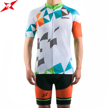 GEODASH Summer Cycling Jersey Man High Quality Quick Dry GEL Pad Clothing 2019 Full Set
